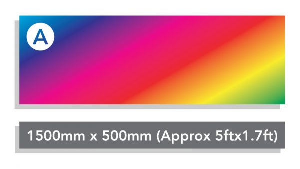 Custom Printed Banner Option A